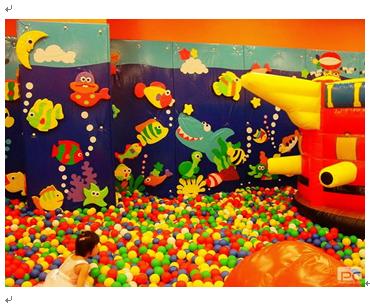 淘嘻乐儿童乐园产品-淘嘻乐儿童乐园海洋充气球池