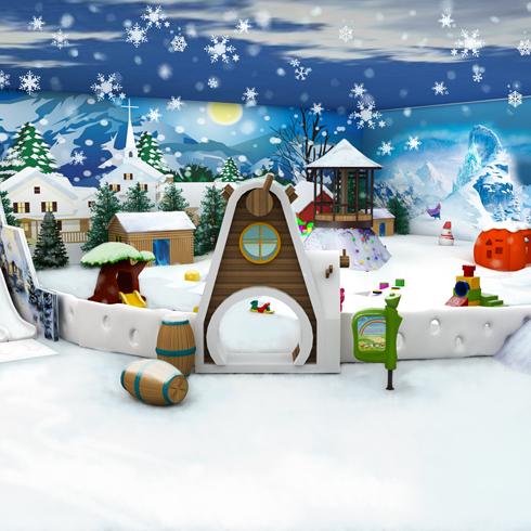 淘嘻乐儿童乐园-雪景