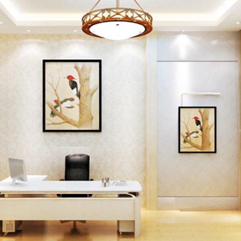 神奇金属装饰画-办公室效果