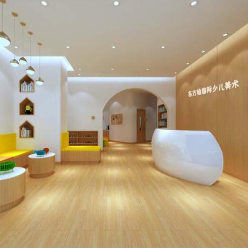东方绘国际少儿美术-美术教室
