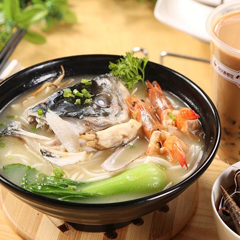 鲜贝恋小海鲜-高汤海鲜粉