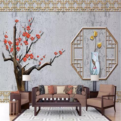 神奇金属装饰画-新中式