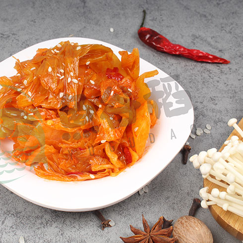 鱼谷稻烤鱼饭-辣白菜