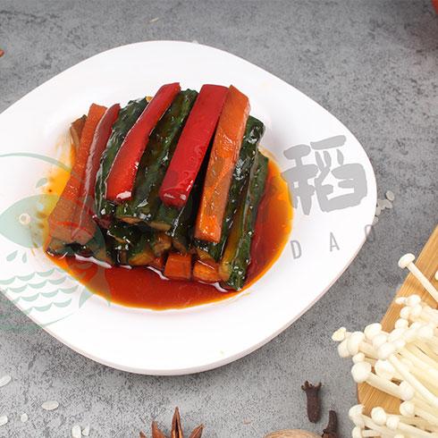 鱼谷稻烤鱼饭-黄瓜条