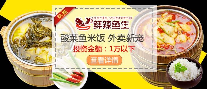 鲜辣鱼生酸菜鱼米饭