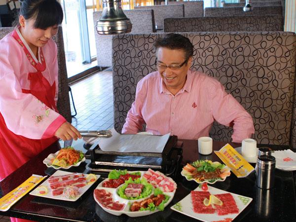 名人在汉釜宫就餐