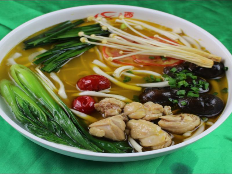 西施火锅米线-香菇炖鸡米粉