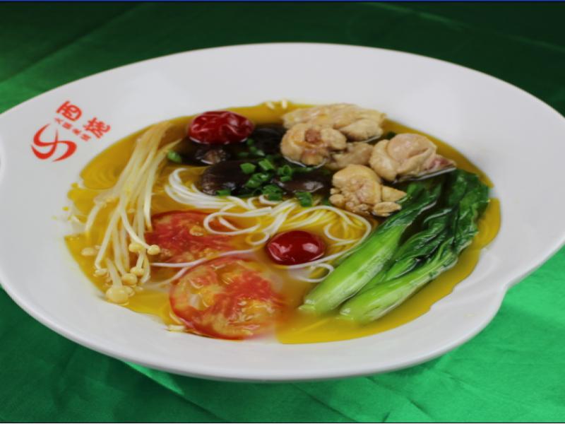 西施火锅米线-香菇鸡米线