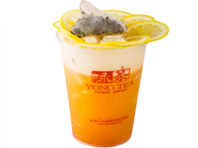 咏茶饮品-鲜柠檬红茶