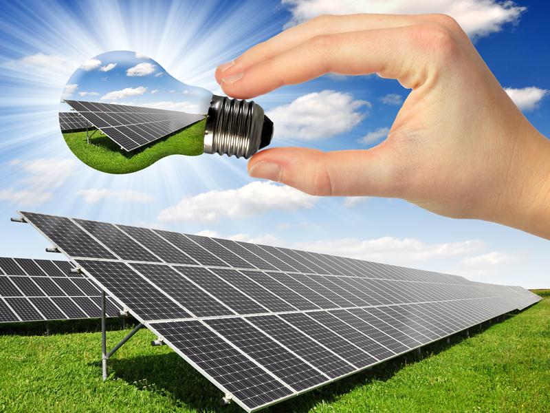 兆菱光伏发电-使用太阳能