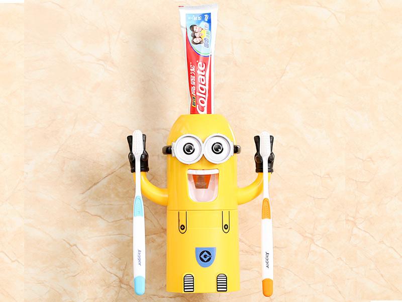 名堂小镇潮品店-小黄人牙膏器