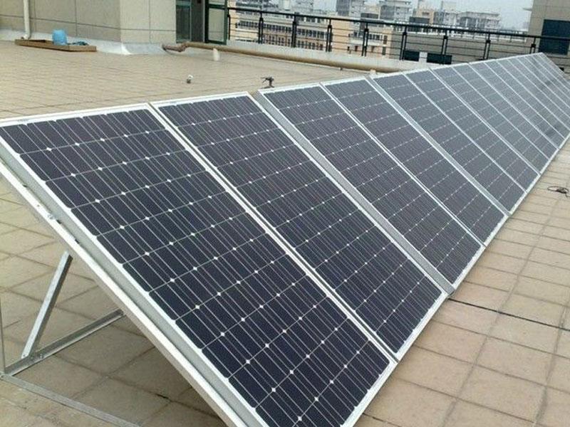 酷米阳光太阳能-楼顶安装