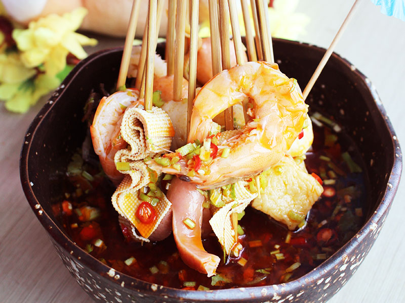 簋鱼锅钵钵鱼快餐-串串
