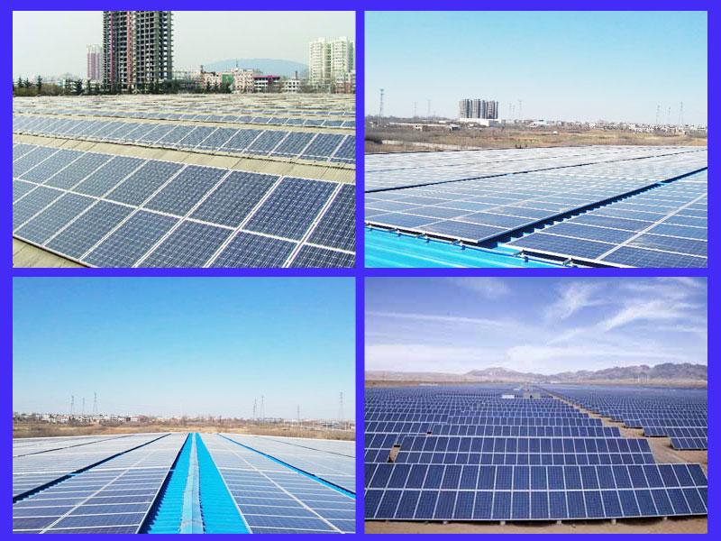 澳普阳光太阳能发电-安装效果