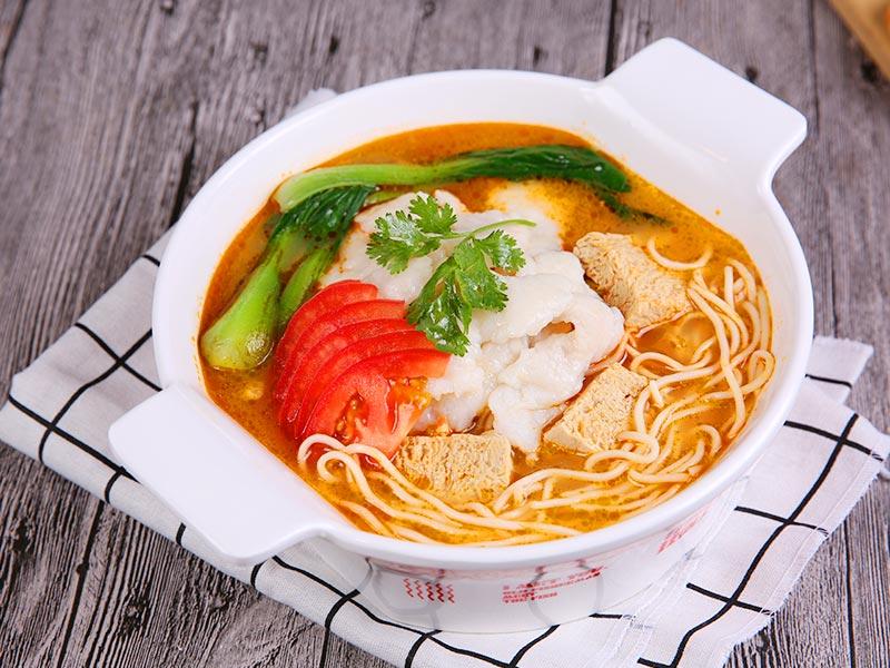 渔遇上鱼藤椒鱼饭-番茄鱼面