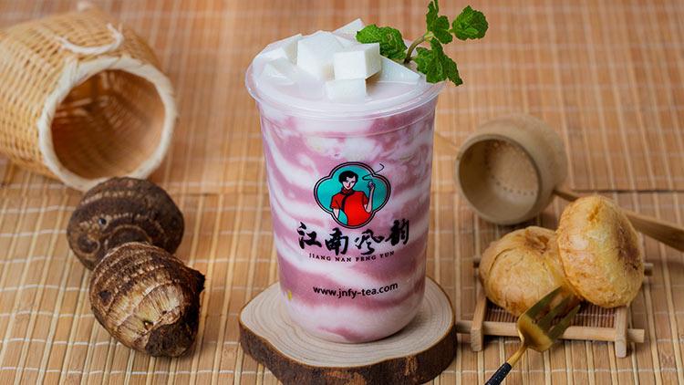 江南风韵奶茶