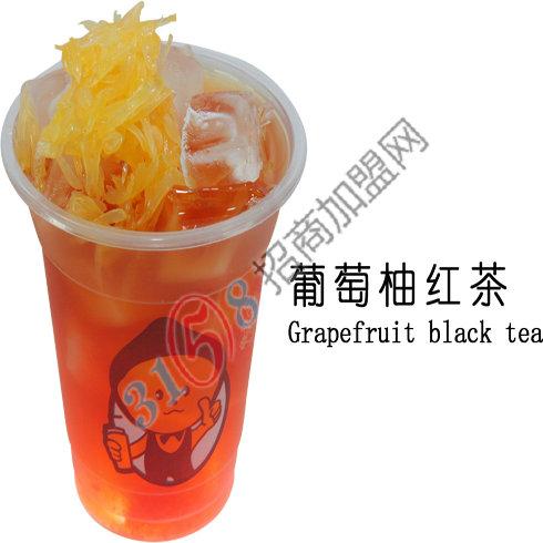 柠檬工坊-葡萄柚红茶