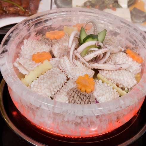 竹林园水晶刷涮锅
