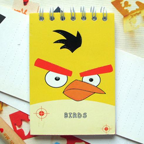 智多星可爱迷你小本子--愤怒的小鸟系列