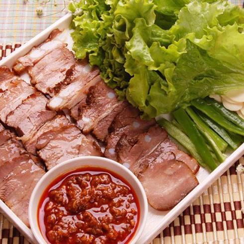 汉烤宫菜包肉片-菜包肉-特色菜