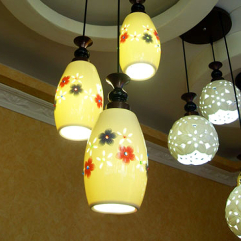 格调生活灯饰 东方古典陶瓷