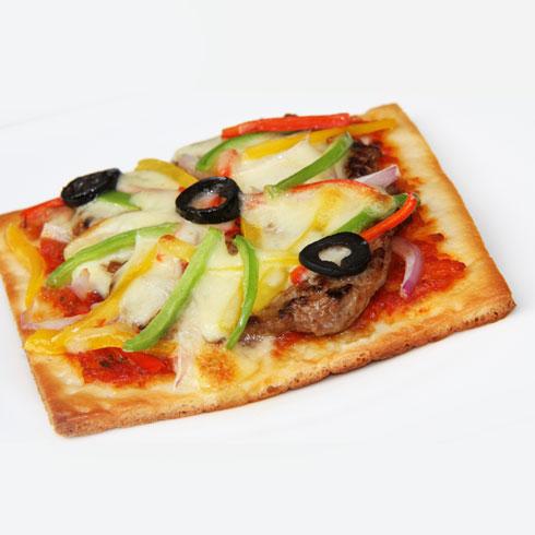拼百味-牛排比萨