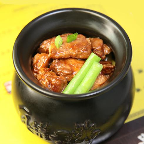 瓦罐香沸-排骨豆角
