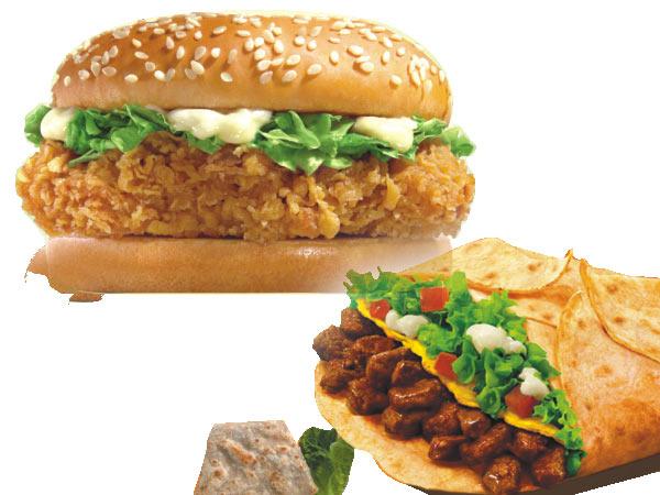 麦辣鸡腿堡-嫩牛五方