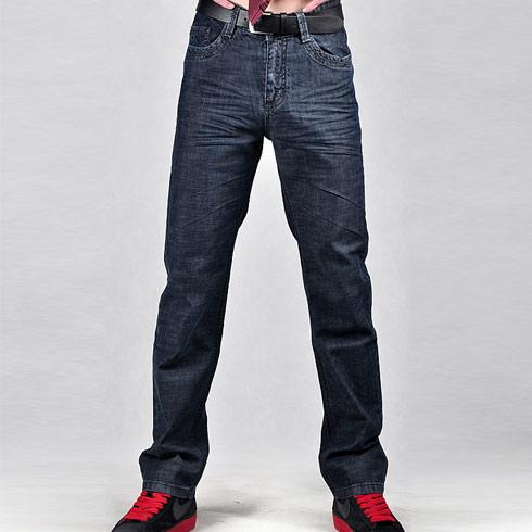 杰克狼人个性牛仔裤