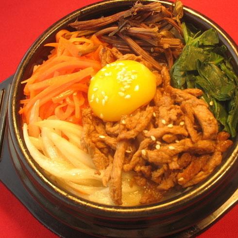 黄金卷-牛肉石锅拌饭