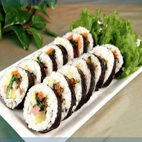 黄金卷-鸡肉紫菜包饭