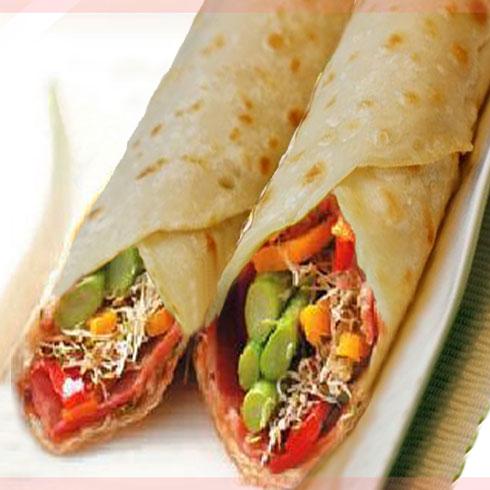 黄金卷-蔬菜水果沙拉卷