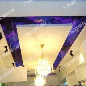 展厅 哥凡尼冰晶画天花 冰晶画装饰画图片 家居装饰效果图
