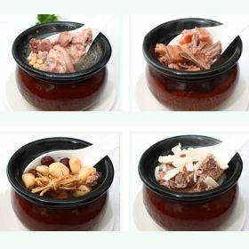 古色传香瓦罐煨汤