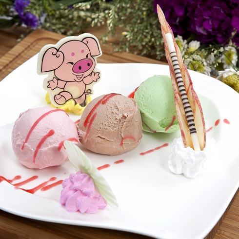 意大利手工创意花式冰淇淋
