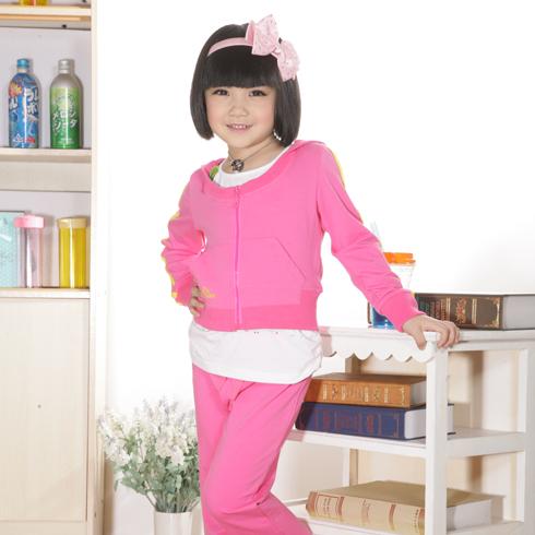 女童舒适套装