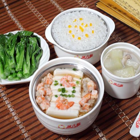 虾仁豆腐套餐