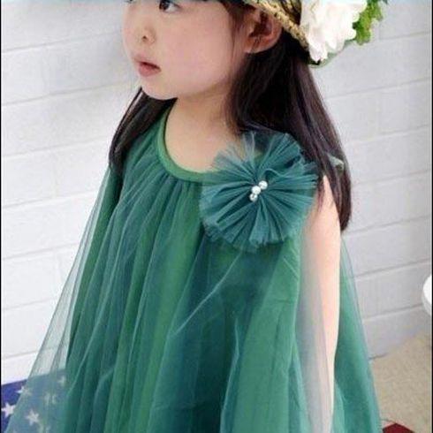 韩版公主纱裙