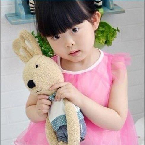 韩版女童公主无袖网纱裙