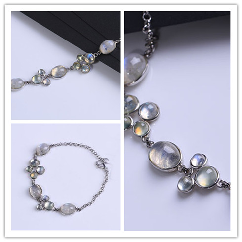 水晶坊月光石-盒装手链系列