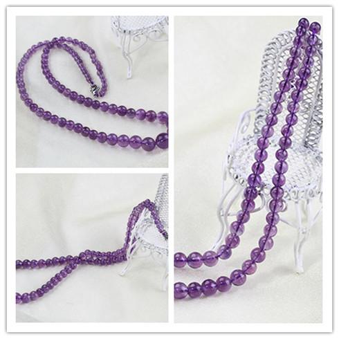 水晶坊紫水晶-盒装项链系列