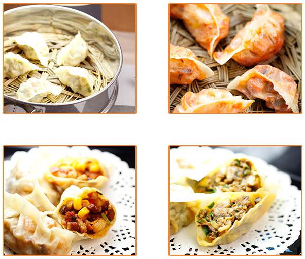 摺摺香中式快餐加盟品牌-水晶玉饺系列