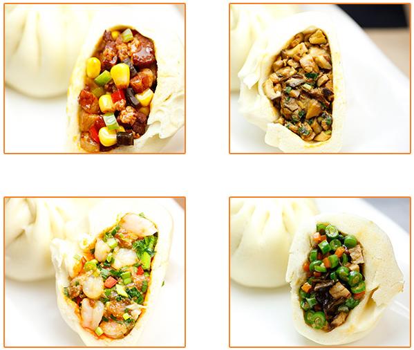 摺摺香中式快餐加盟品牌-精品包子系列