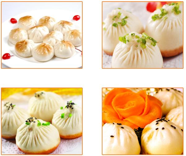 摺摺香中式快餐加盟品牌-生煎包子系列