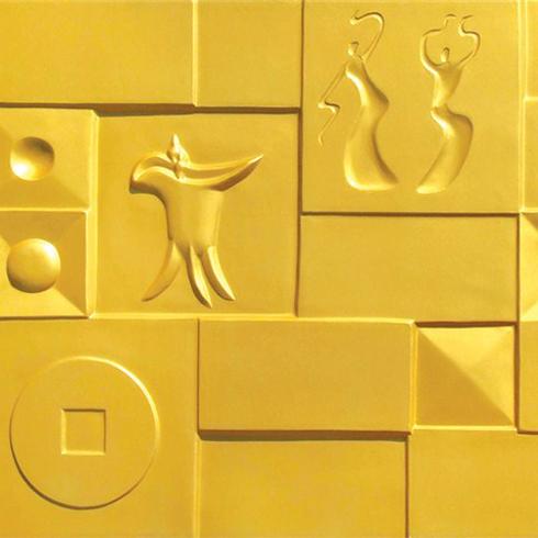 雅诗3D背景墙-远古之音