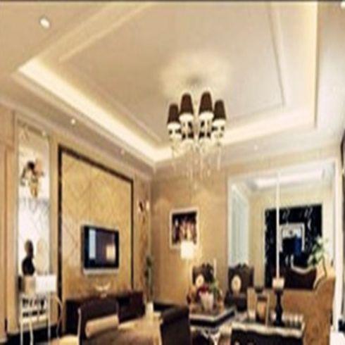 欧式客厅墙纸