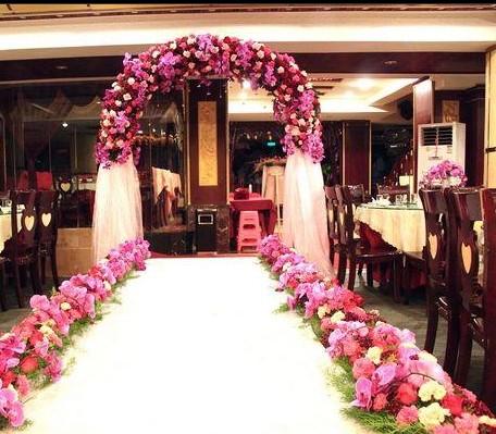 水果主题婚礼布置_纯美婚礼企划-3158招商加盟网