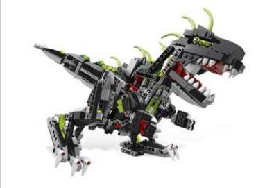 diy木質拼裝恐龍機器人圖片