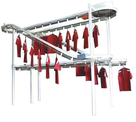 朵拉洗衣-衣物输送线