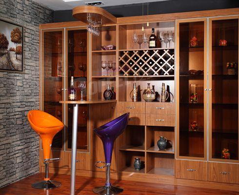 家庭餐厅酒柜效果图,拉斐尔整体家具酒柜,客厅酒柜柜